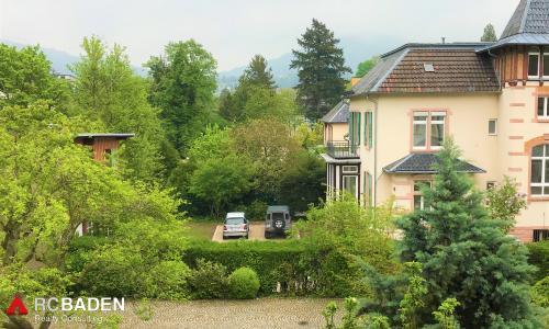 Wohnung Baden-Baden. Aussicht aus Schlafzimmer.